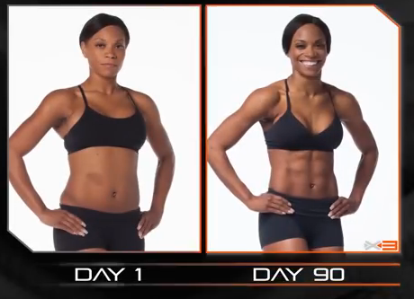 p90x2 before and after women  Get Ripped in HALF THE