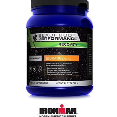 Beachbody Performance Recover Orange Flavored Recovery Drink