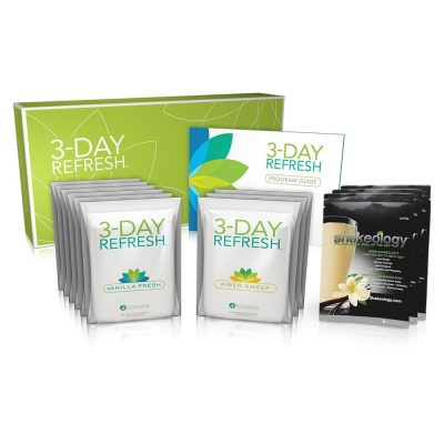 Shakeology Vanilla with Beachbody 3 Day Refresh